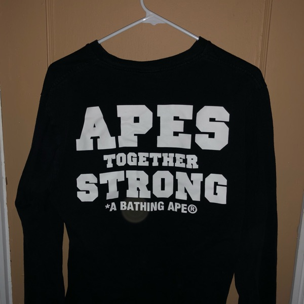 "Bape ""Apes Together Strong Tee"""