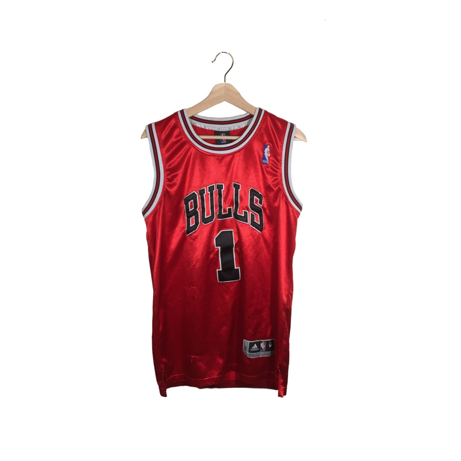 new style 6309e 72aef Vintage Derrick Rose Chicago Bulls Jersey Red