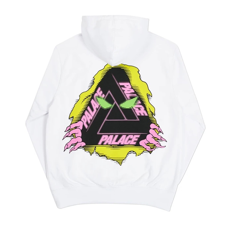 Palace Tri Ripper Hood White
