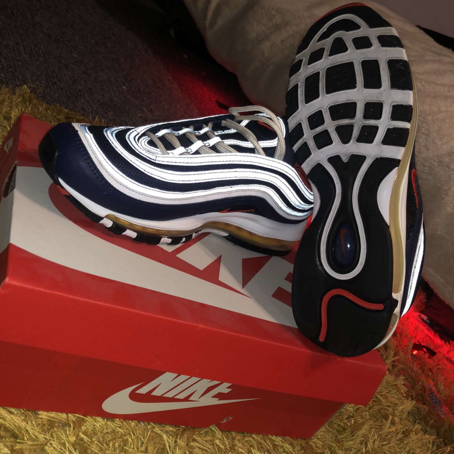 Nike Air Max 97 Blue Red