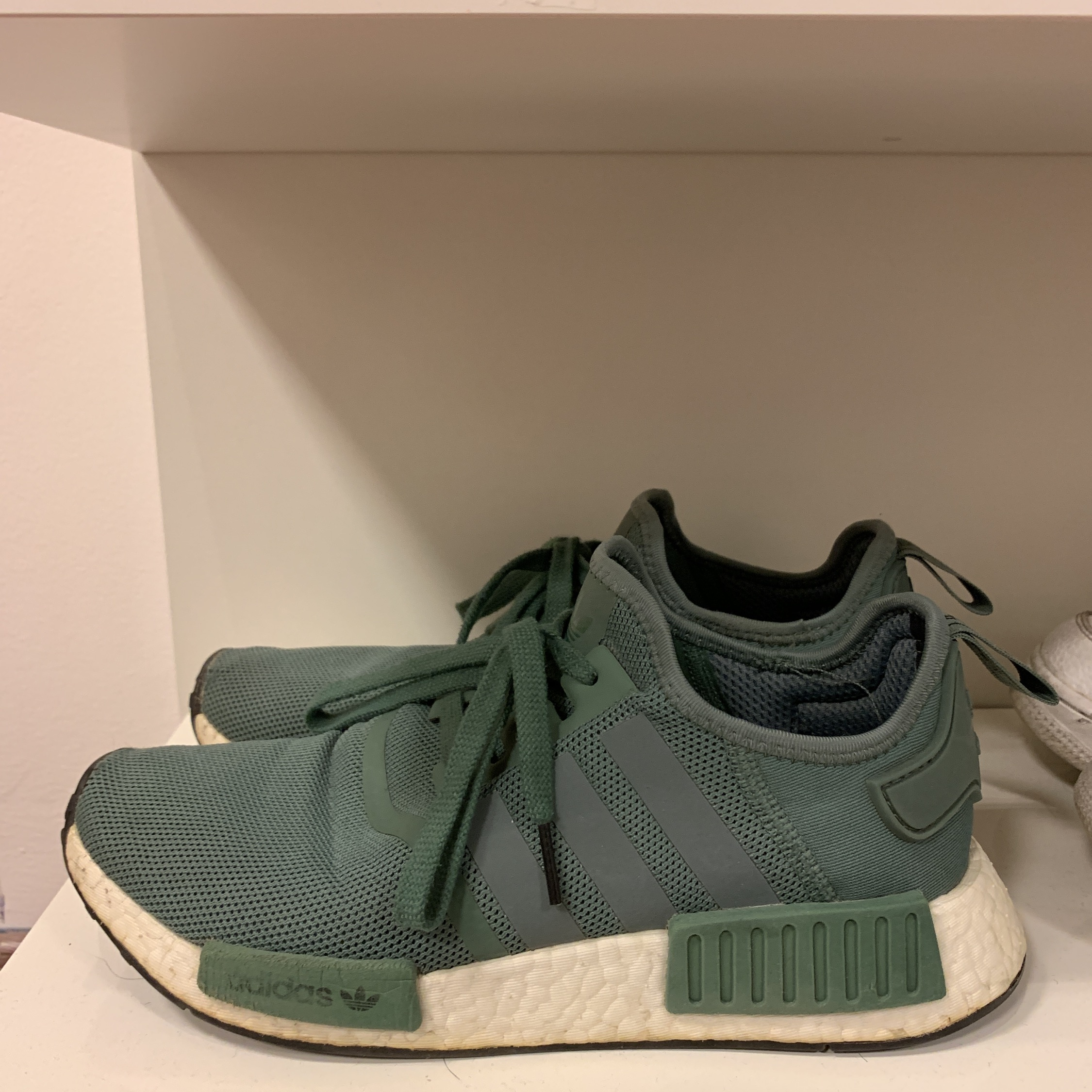 buy online 76d93 02bb3 Adidas Nmd R1 Green