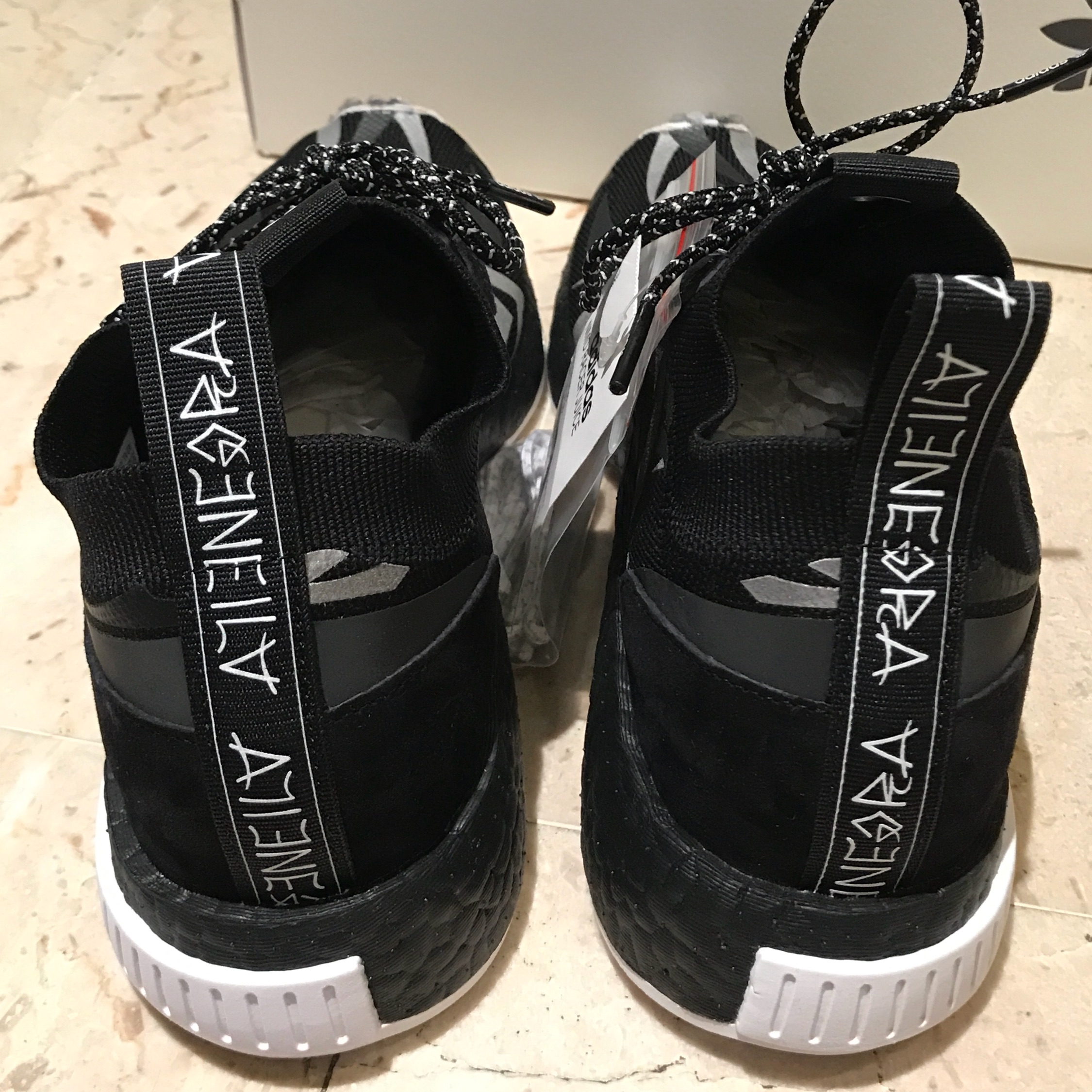 info for b7ea6 791fb Adidas Consortium Juice Nmd Racer Size 7Us Limited