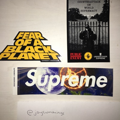Supreme Fear Of A Black Planet Stickers