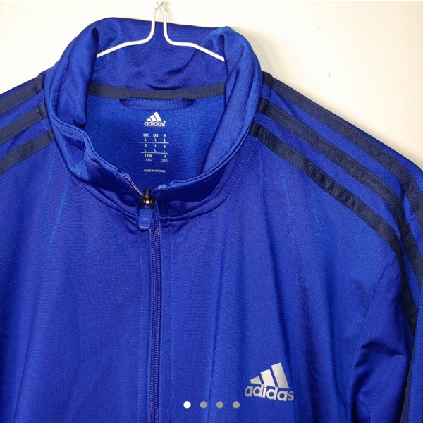 Adidas Pearlessence Zip Up Track Jacket