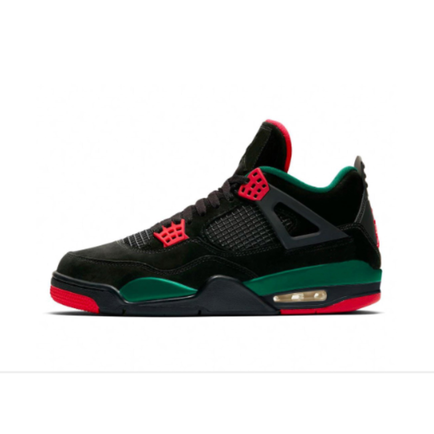 uk availability ef6f6 369c2 Jordan 4 Black Gucci Pre Order Size 13