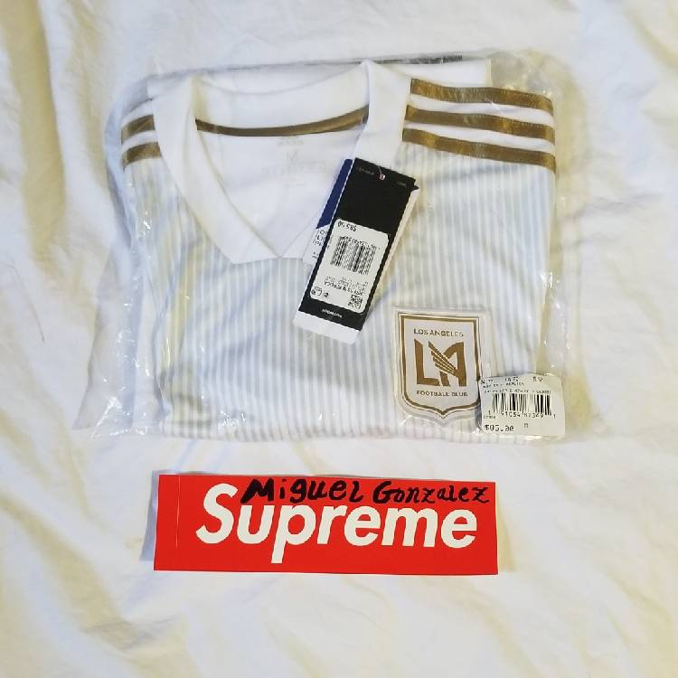 official photos 75be6 fe5e6 Adidas MLS lafc Jersey
