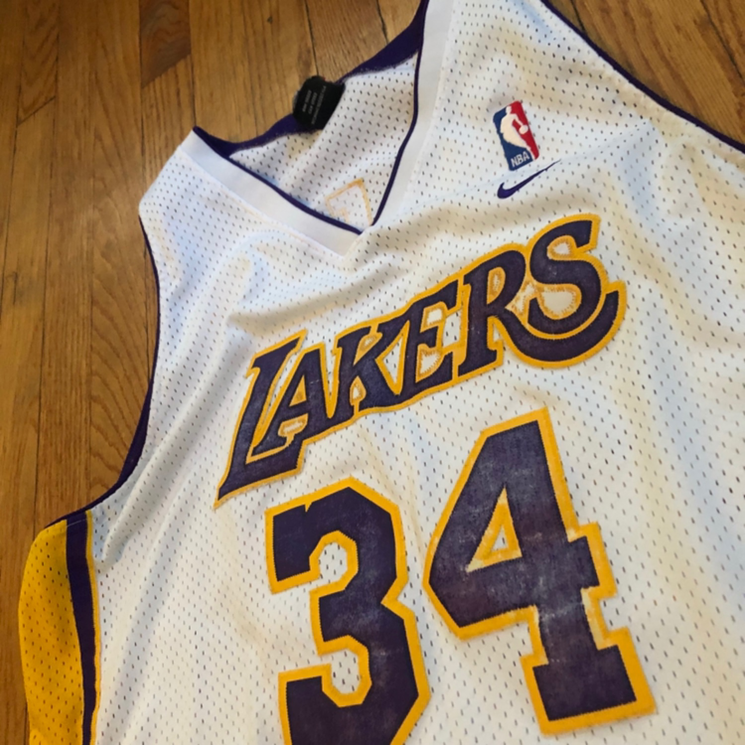 c8818928 Vintage Nike Los Angeles Lakers O'neal Jersey