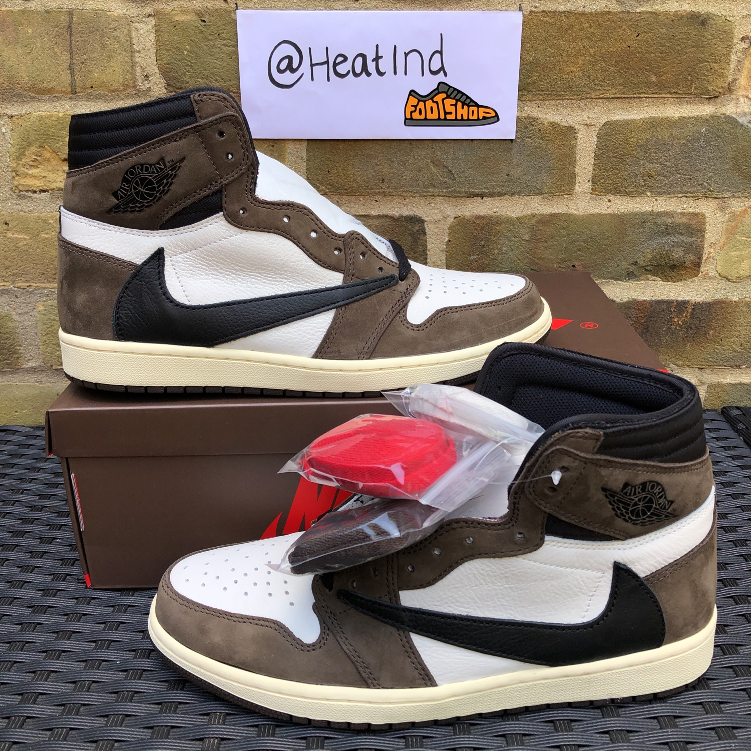 Air Jordan 1 High Og Travis Scott Cactus Jack
