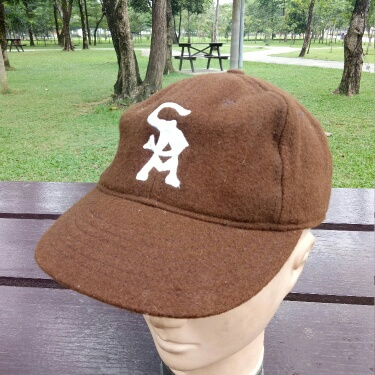 Vintage SA San Antonio Cooperstown Ballcap Co Baseball MLB Cap Hat Size 7 1/2 Made In USA
