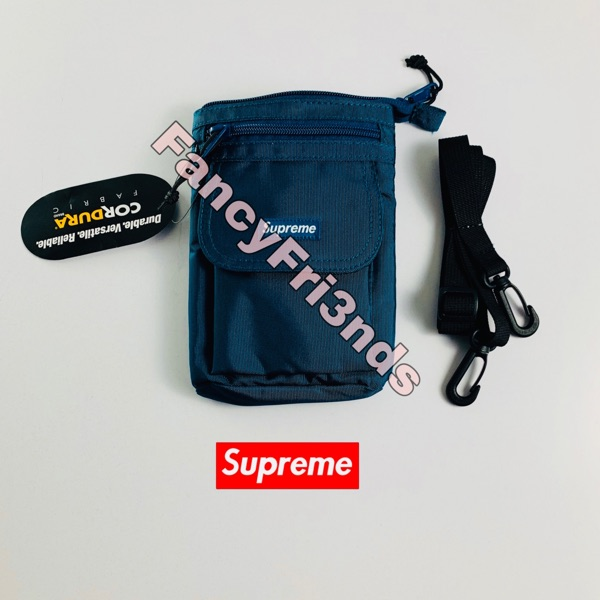 Supreme Shoulder Bag (Fw19) Dark Teal