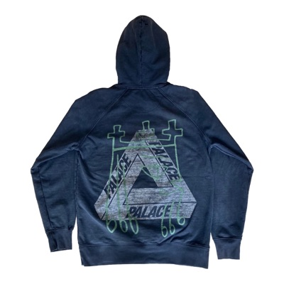 Palace Shawn Powers Black Hoodie