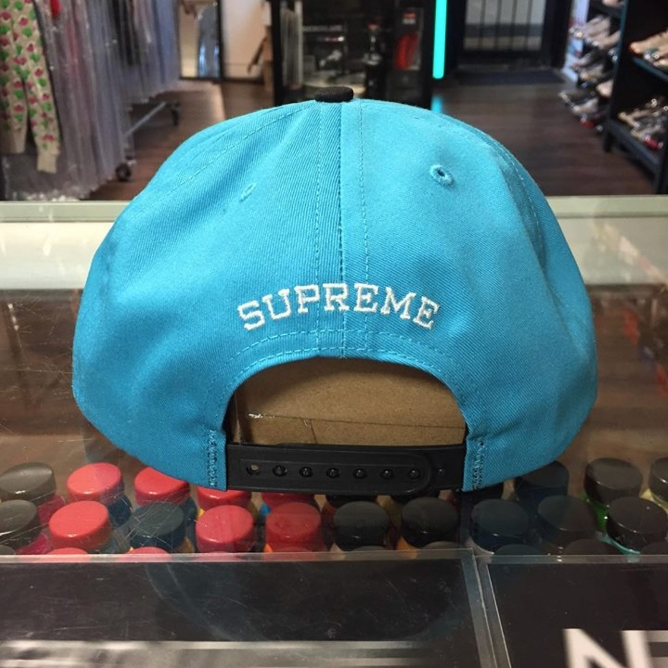Supreme Underline 5 Panel Cap New