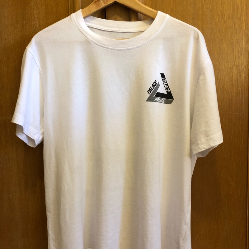 Palace Tri-Shadow T-Shirt White/Grey