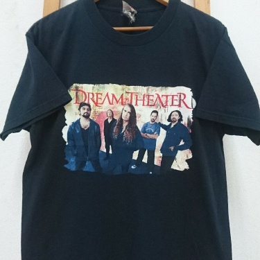 Vintage Early 00s Dream Theater Band Tees