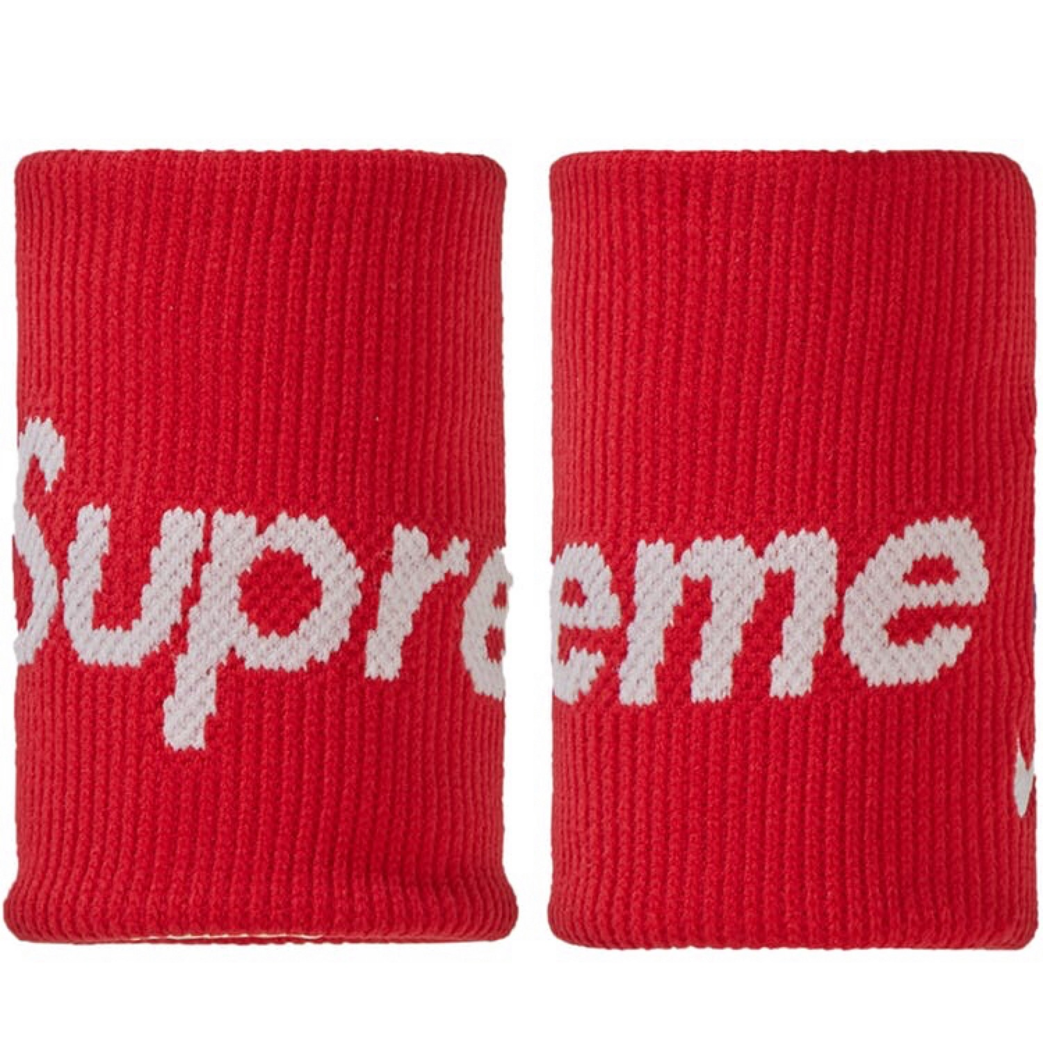 Supreme Nike Nba Wristbands Red