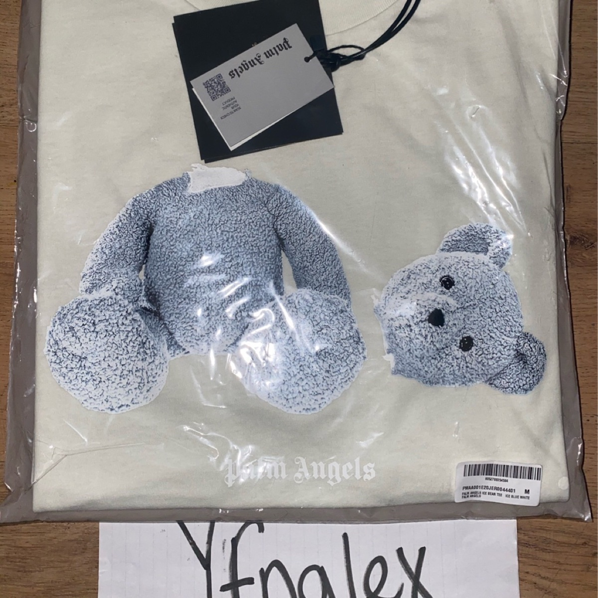 PALM ANGELS ICE BEAR CREW NECK T-SHIRT
