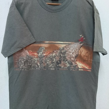 VINTAGE 90s DISTRESSED KORN BAND FOLLOW THE LEADER TEES