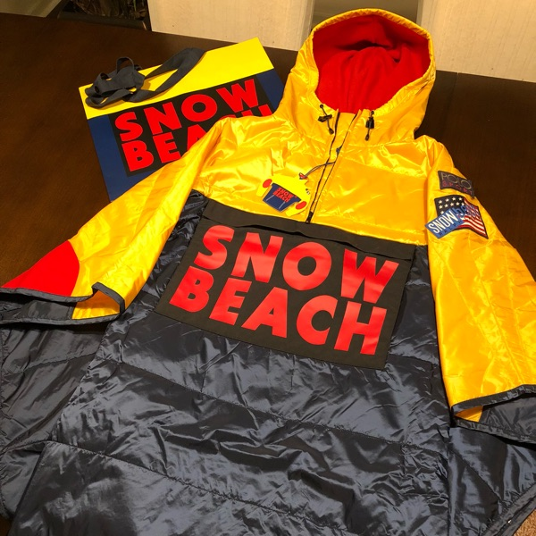 Polo Ralph Lauren Snow Beach Poncho