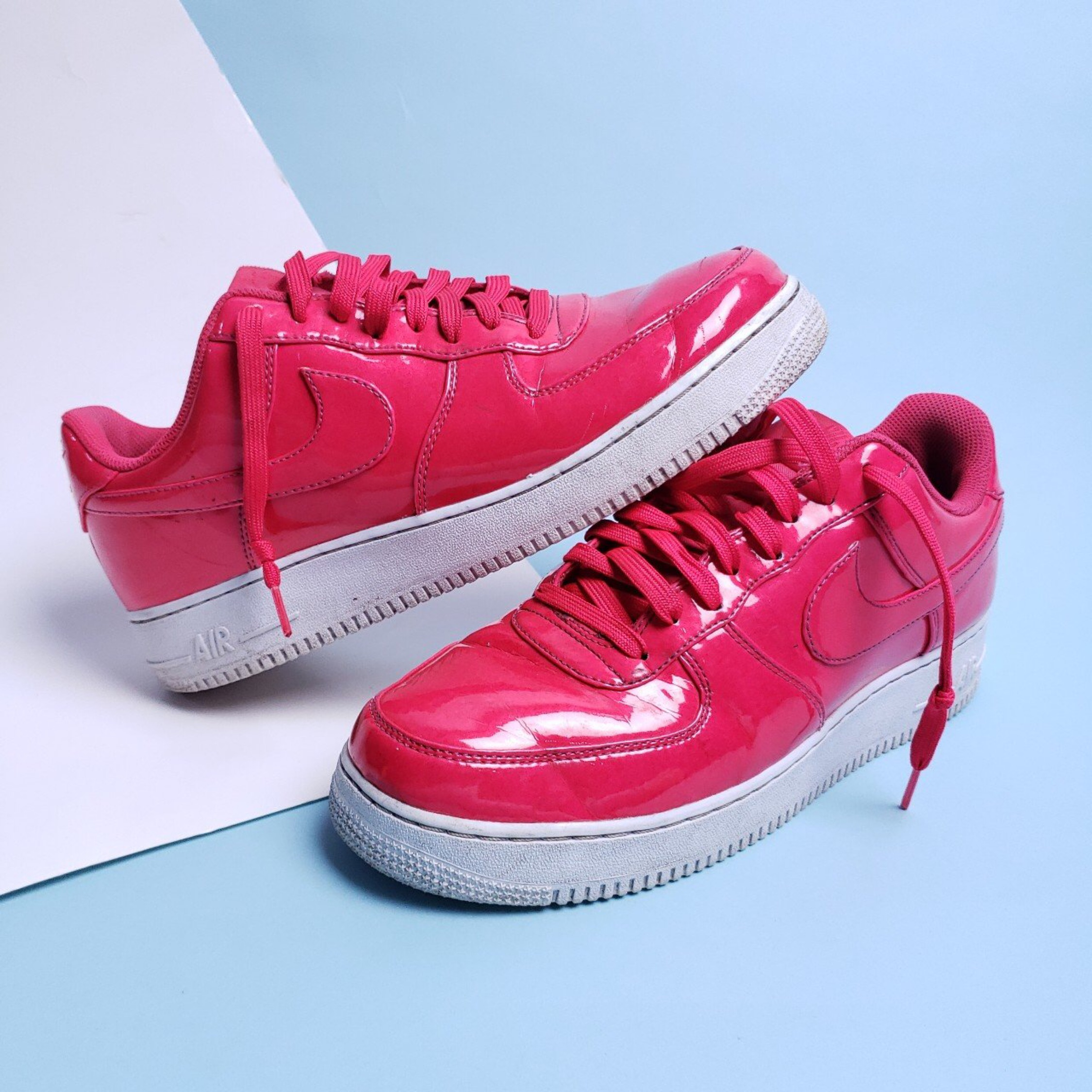 Nike Air Force 1 Pink Patent Leather