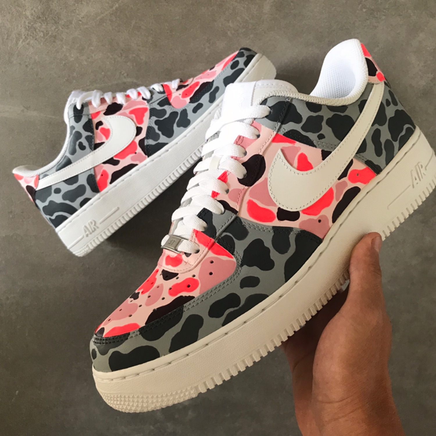 air force one custom bape
