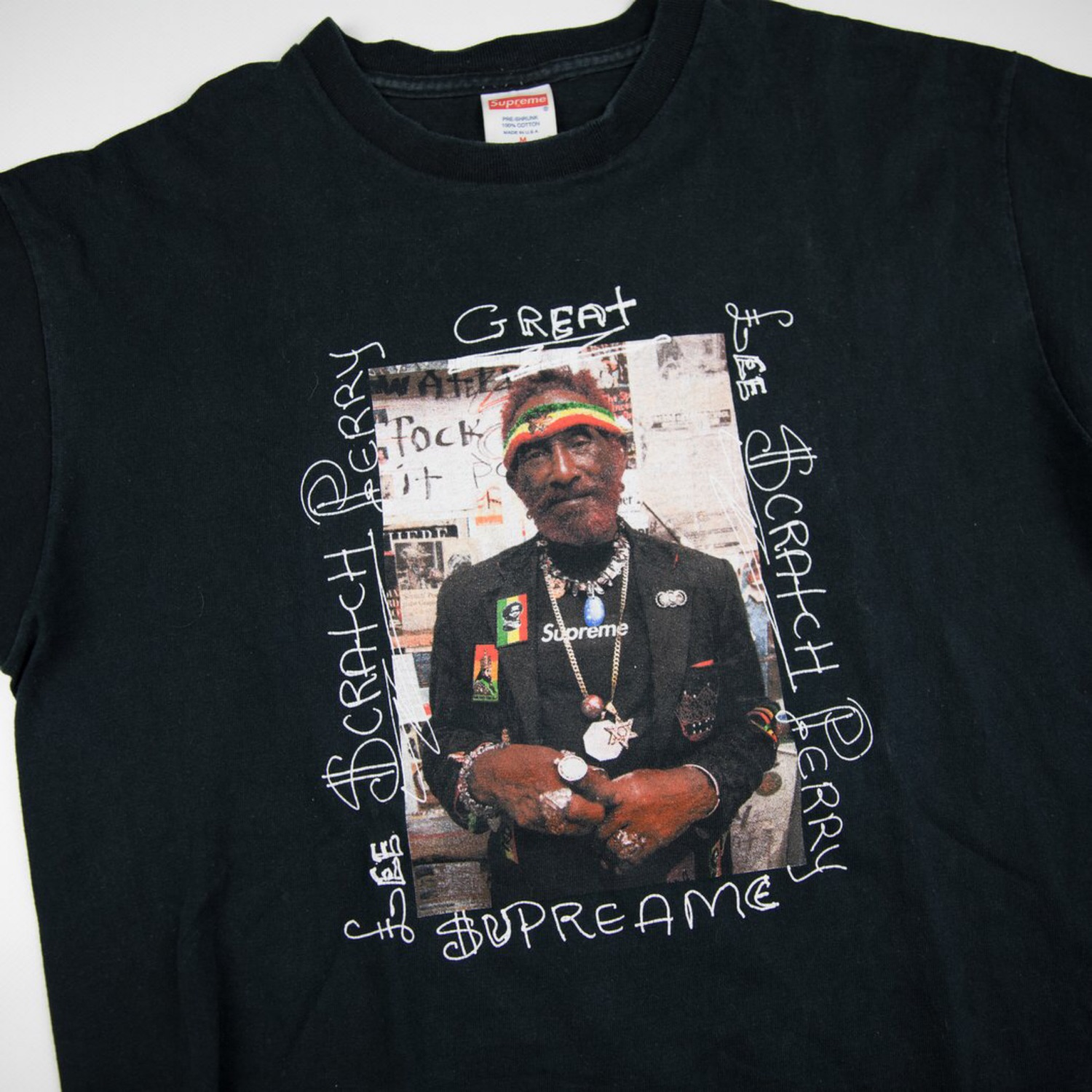 Supreme Lee Scratch Perry Tee Black (Used - M)