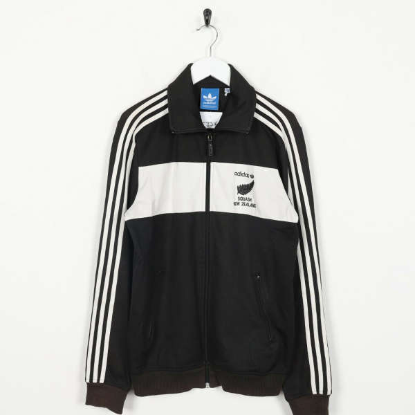 Vintage ADIDAS ORIGINALS Squash New Zealand Tracksuit Top Jacket | Medium M