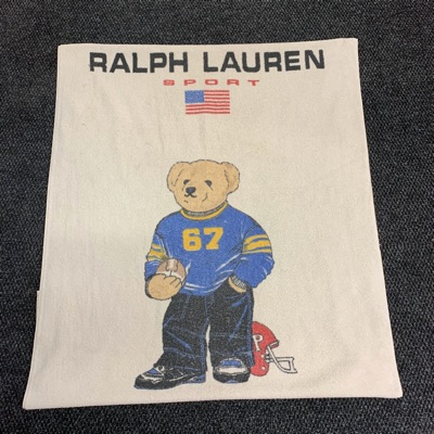 Ralph Lauren Sport Varsity Football Bear Towel