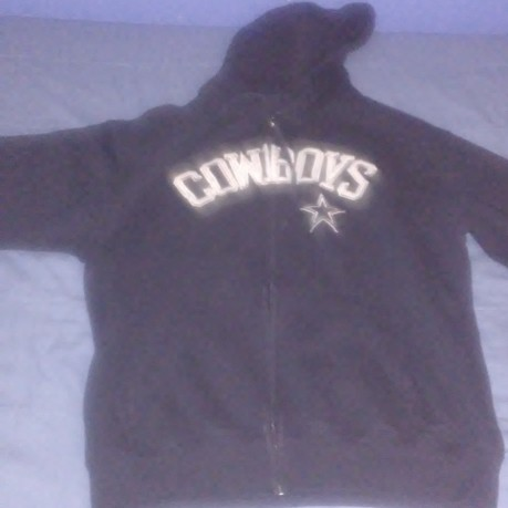 more photos 04165 60871 Dallas Cowboys Zip Up Jacket/Hoodie