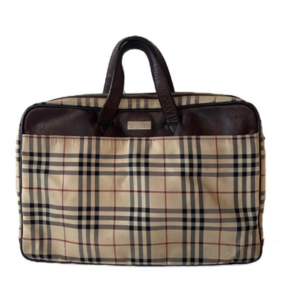 Vintage Burberry Laptop Bag