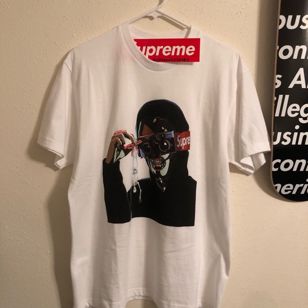 Supreme Creeper Tee White Medium