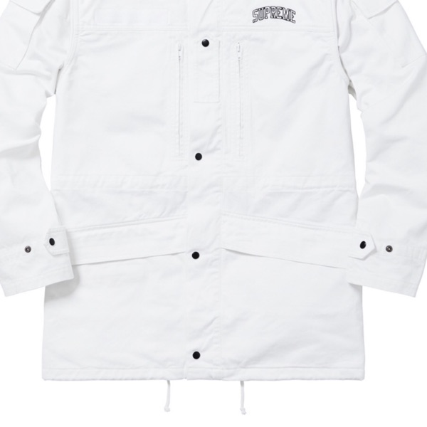 Supreme Infantry Jacket White