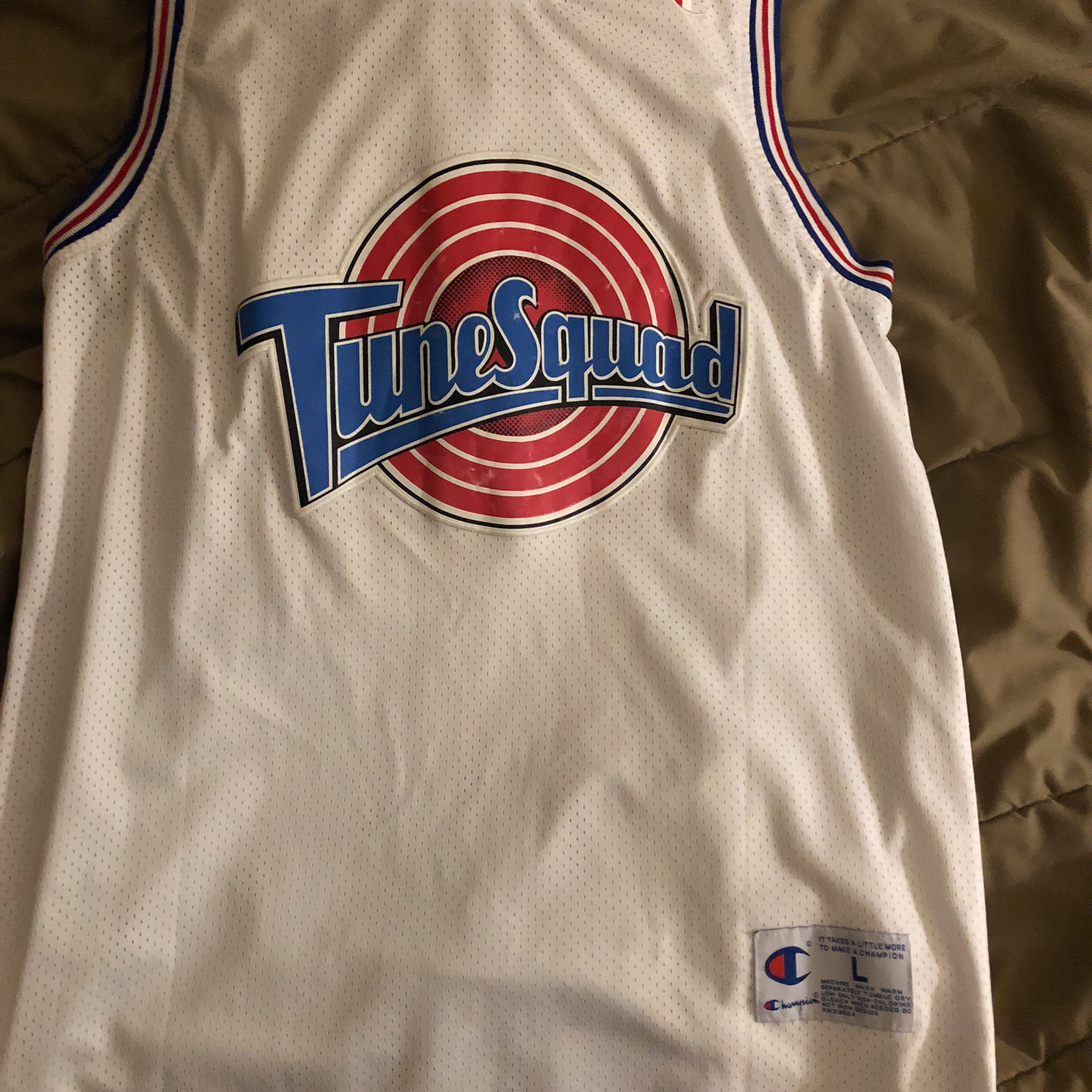 outlet store 6cadc c0478 Micheal Jordan Tune Squad Jersey