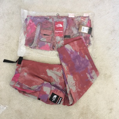 Supreme The North Face Belted Cargo Pant Multi