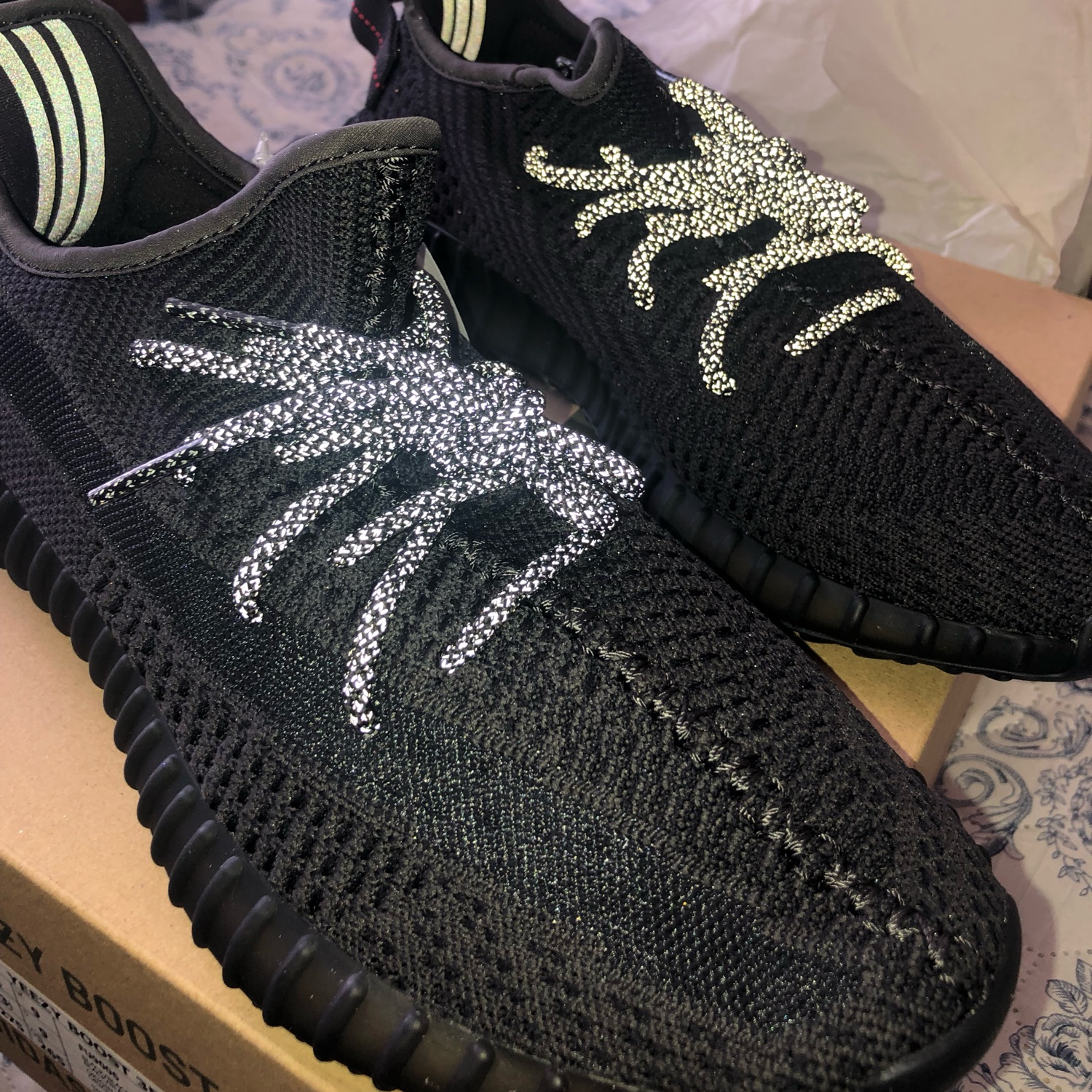 "low priced 4c201 9f07a Adidas Yeezy Boost 350 V2 ""Black"" Non-Reflective"