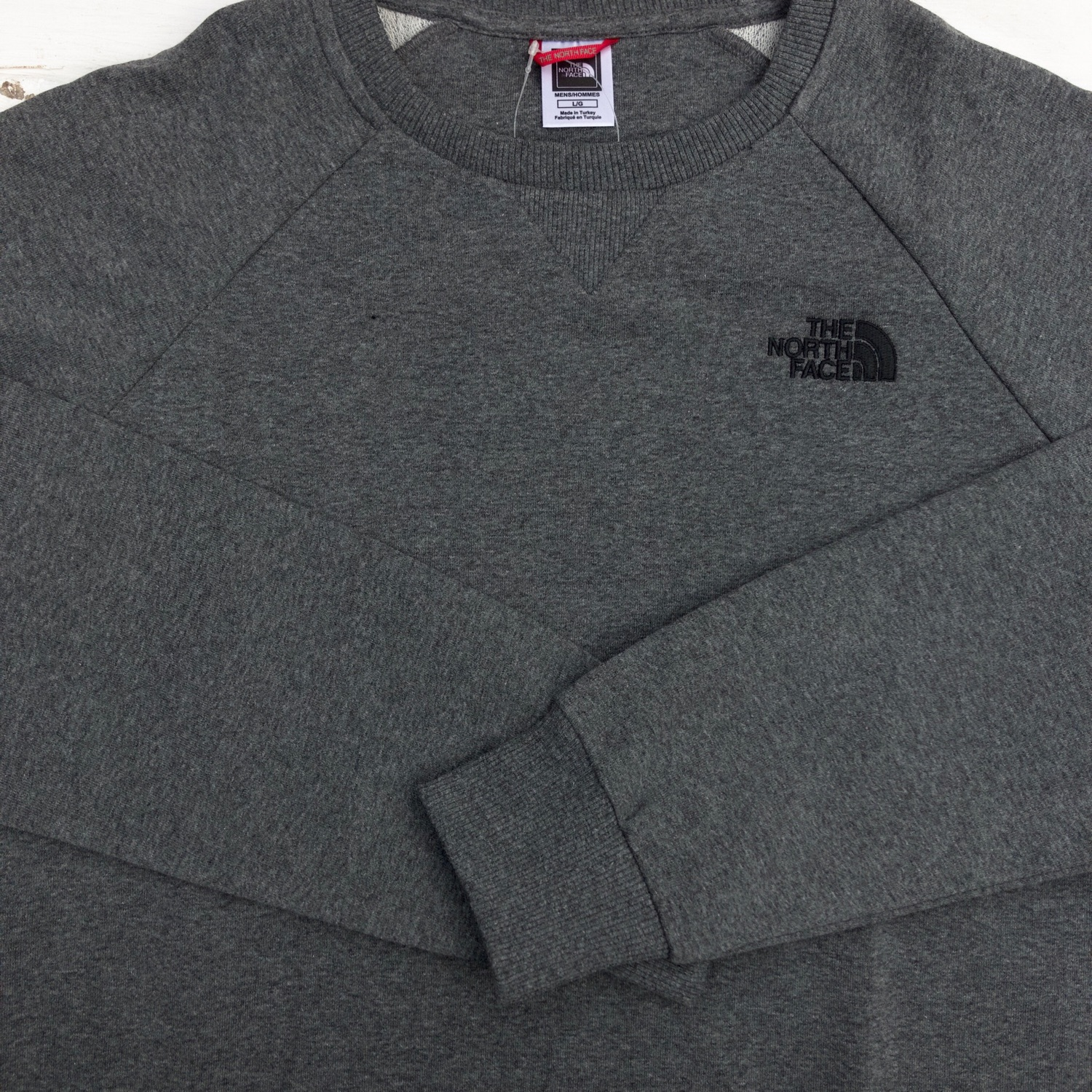 Brand New Grey The North Face Sweater / Jumper