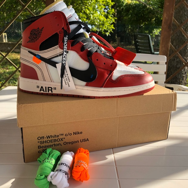 Jordan 1 Retro High Off-White Chicago 'The Ten'