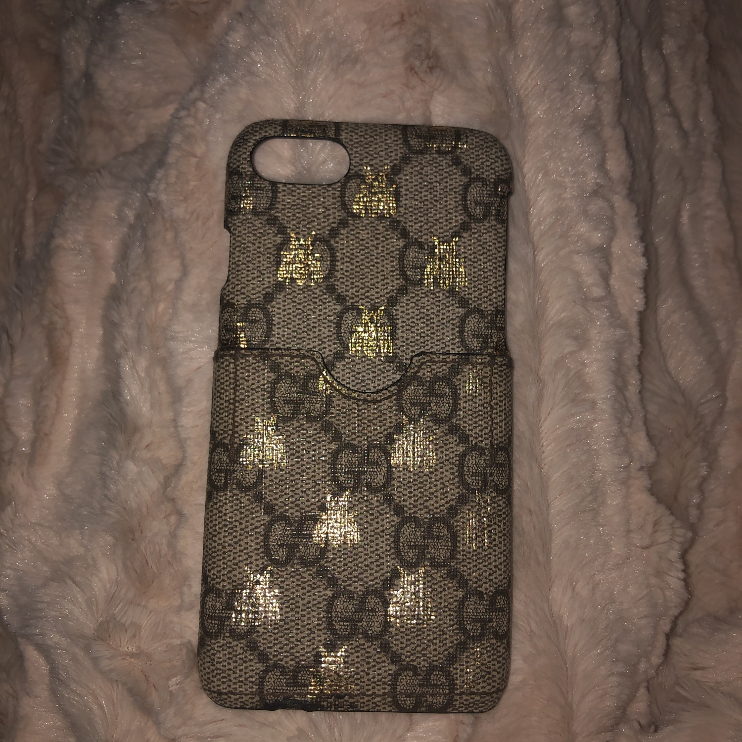 sneakers for cheap 8ed72 cf1af Gucci Iphone 8 Case