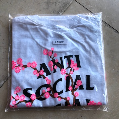 Anti Social Social Club White Cherry Blossom Tee
