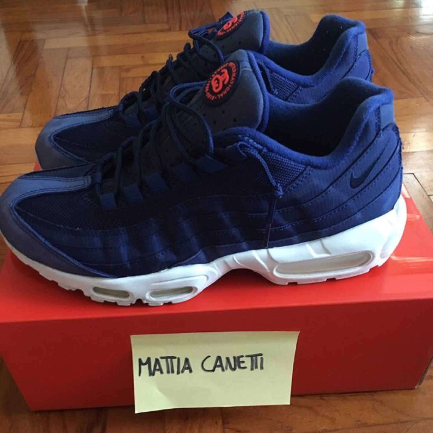 """info for 9f916 bed9f Nike Air Max 95 X Stussy """"Loyal Blue"""""""