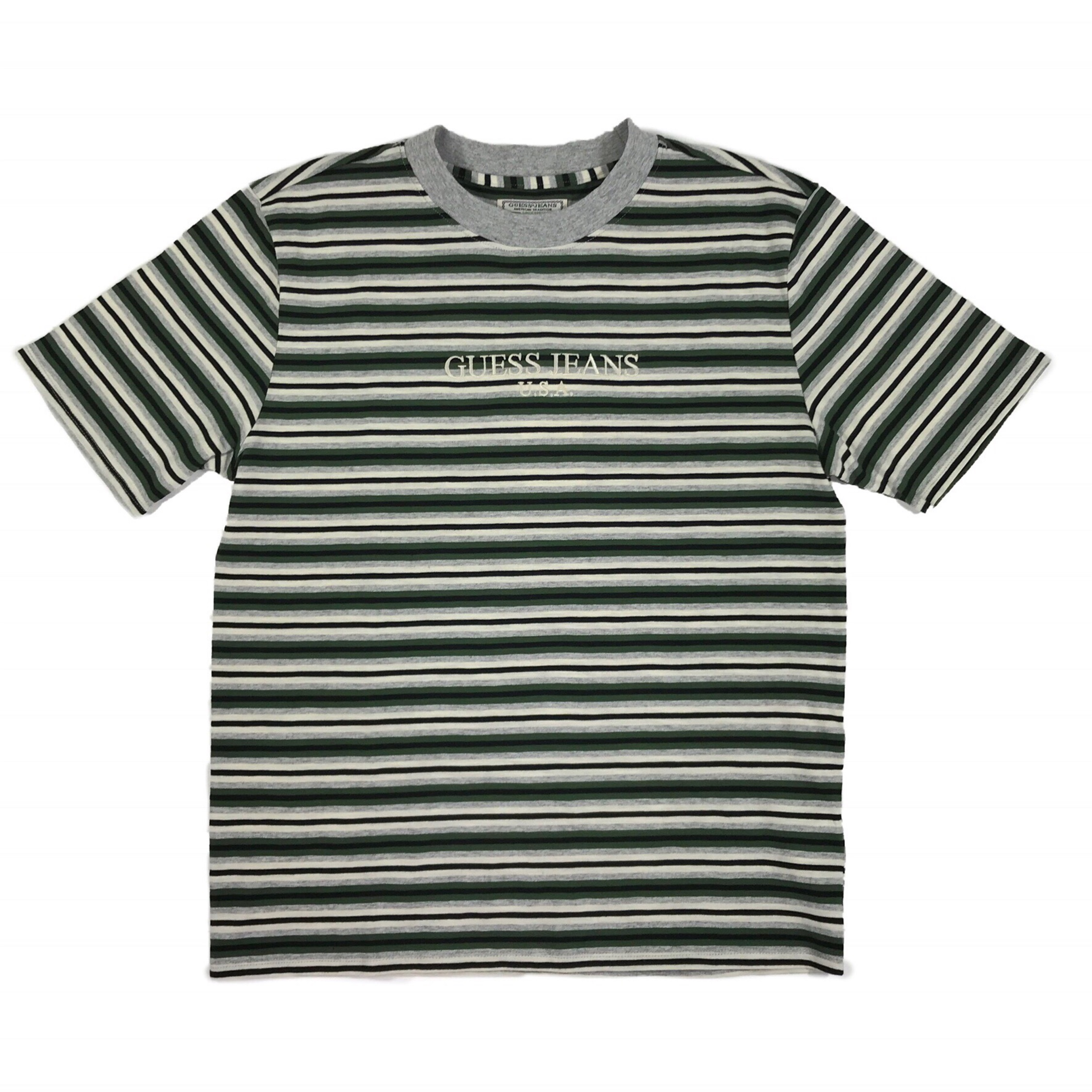 66ad65c6 Guess Jeans Striped T Shirt
