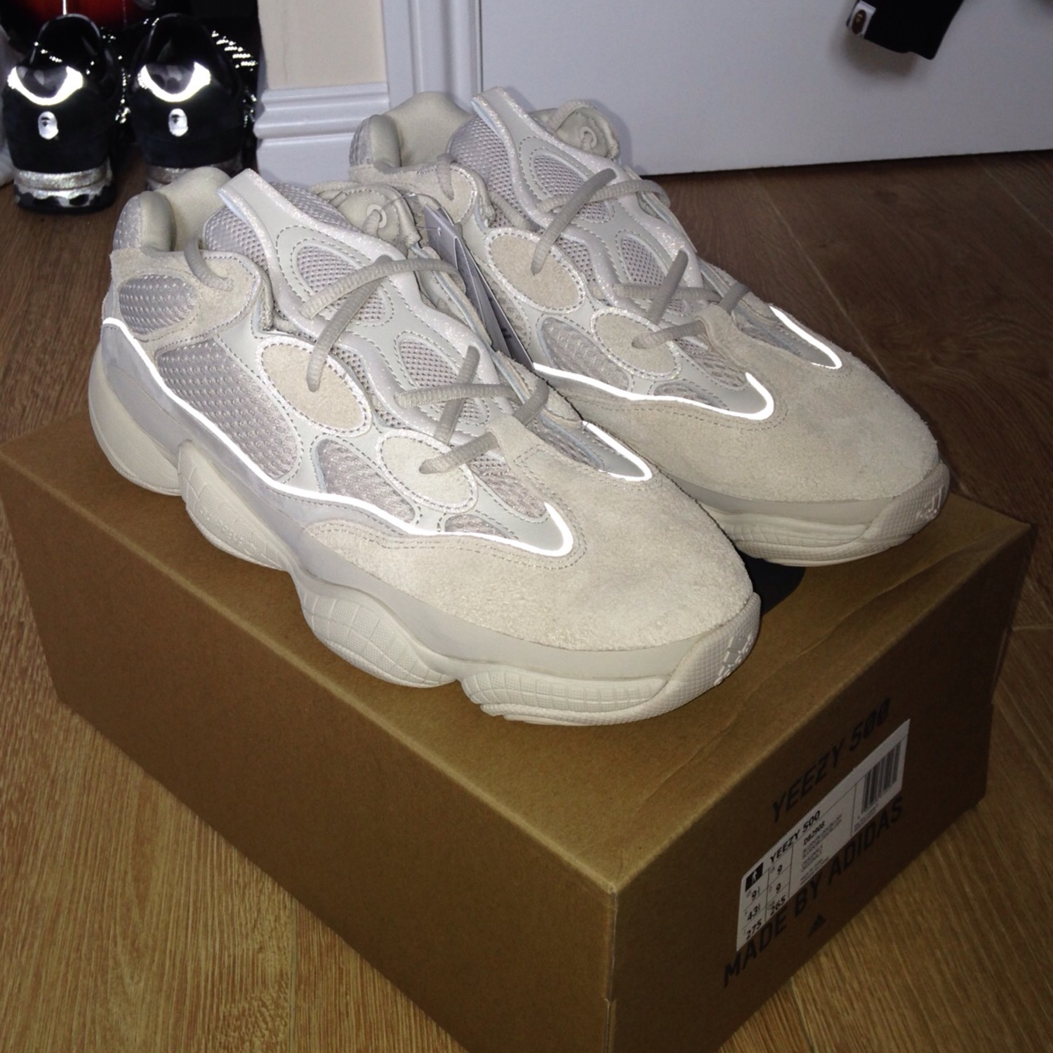 competitive price b04d5 af308 Deadstock Adidas Kanye Yeezy 500 Blush Desert Rat