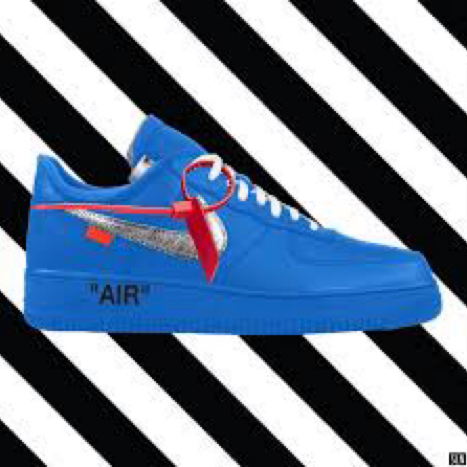 d3f826ccd Nike X Off-White Air Force 1 Blue | Proxy