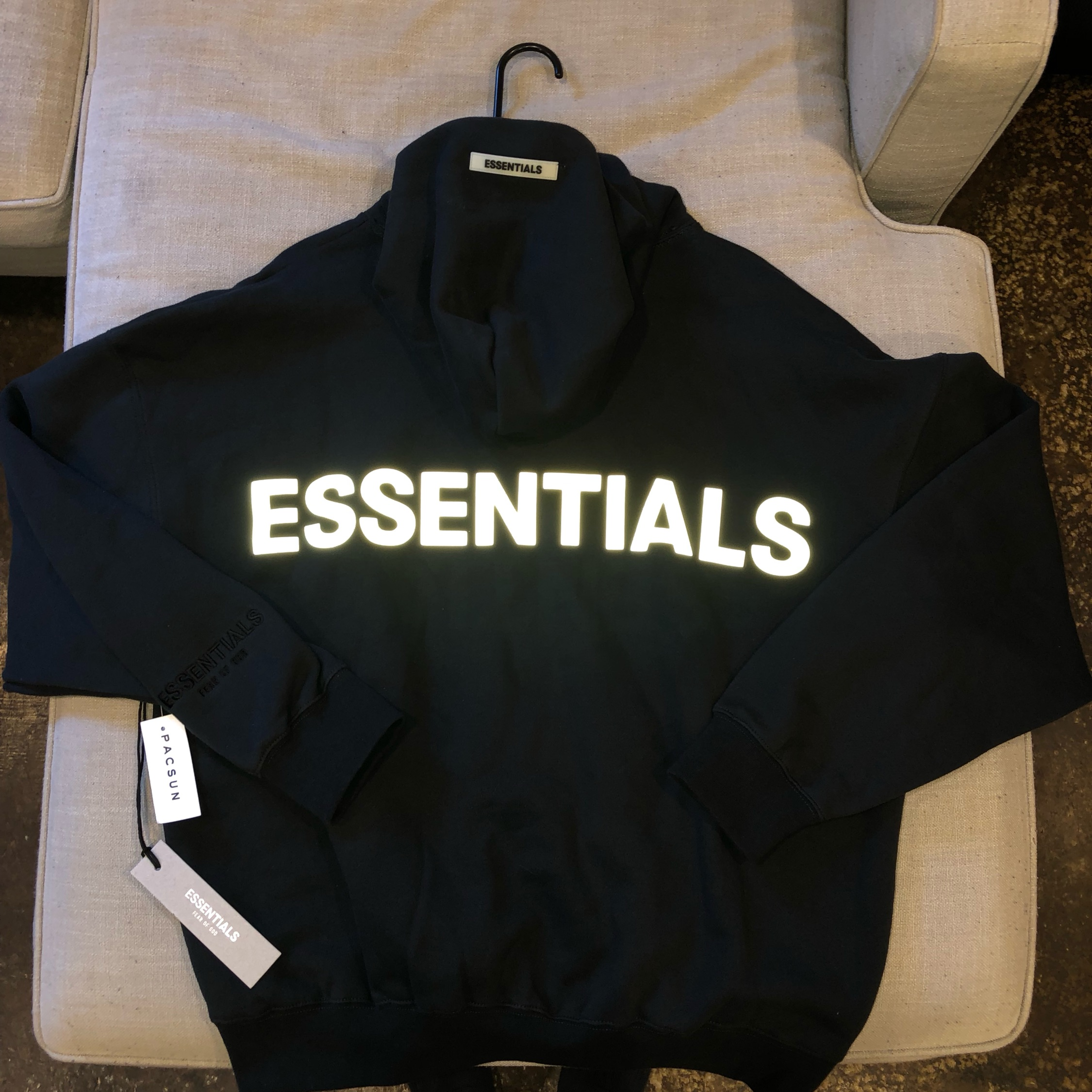 Fear Of God Essentials Reflective Hoodie