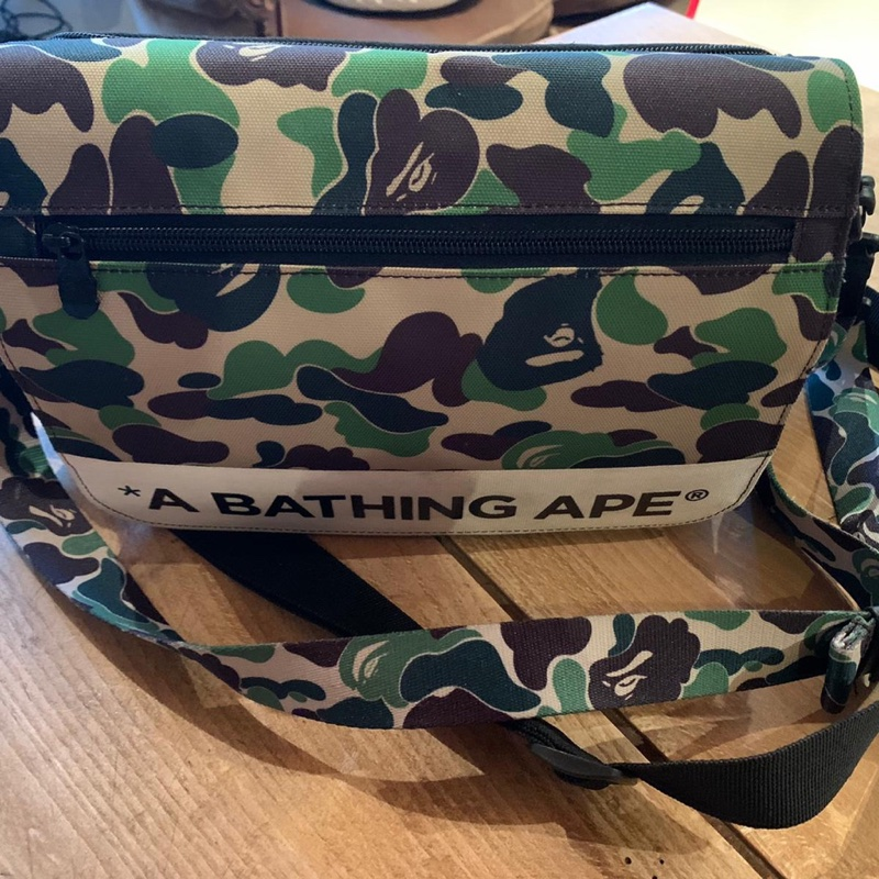 BAPE ABC Double Strap Bag (FW19) Green