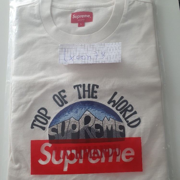 Supreme Top Of The World S/S Top