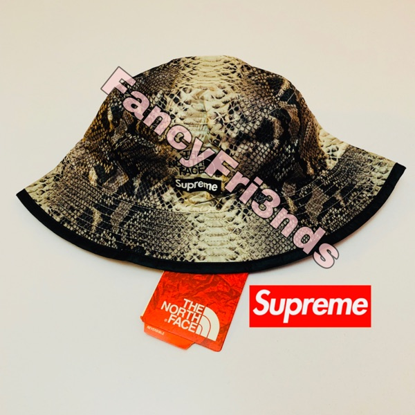 Supreme The North Face Snakeskin Crusher Black