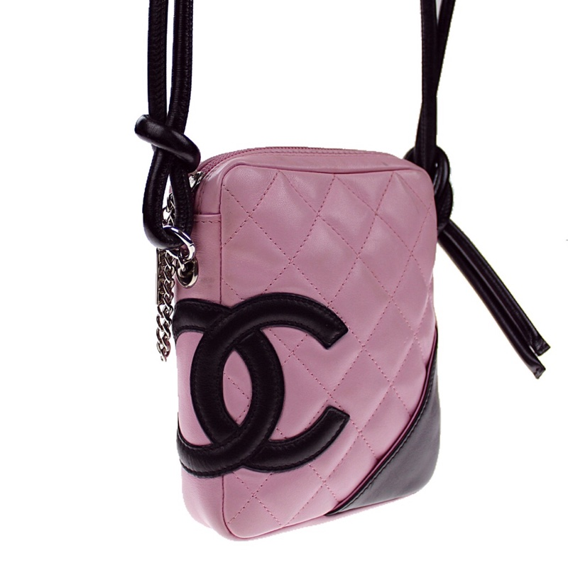 Chanel Pink Cambon Cross Body Bag