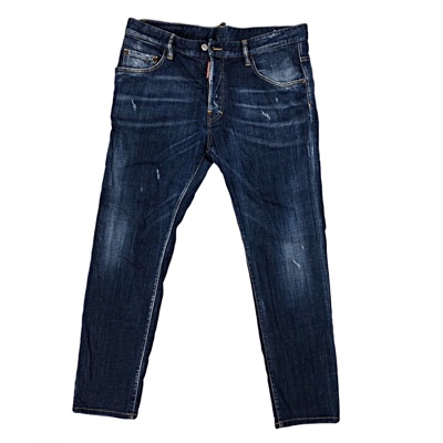 Dsquared2 Dark Denim Men's Slim Jeans Real