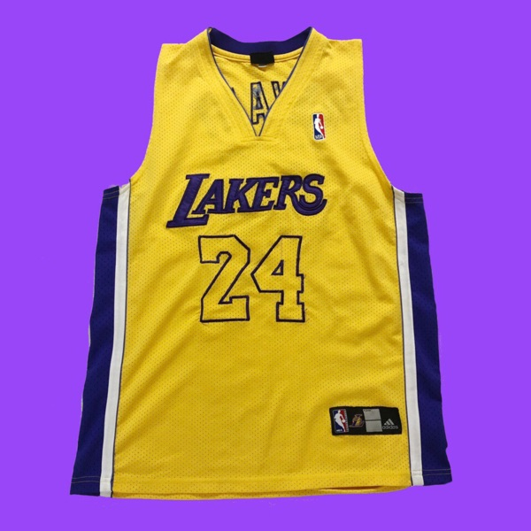 Official Los Angeles Lakers Kobe Bryant Jersey