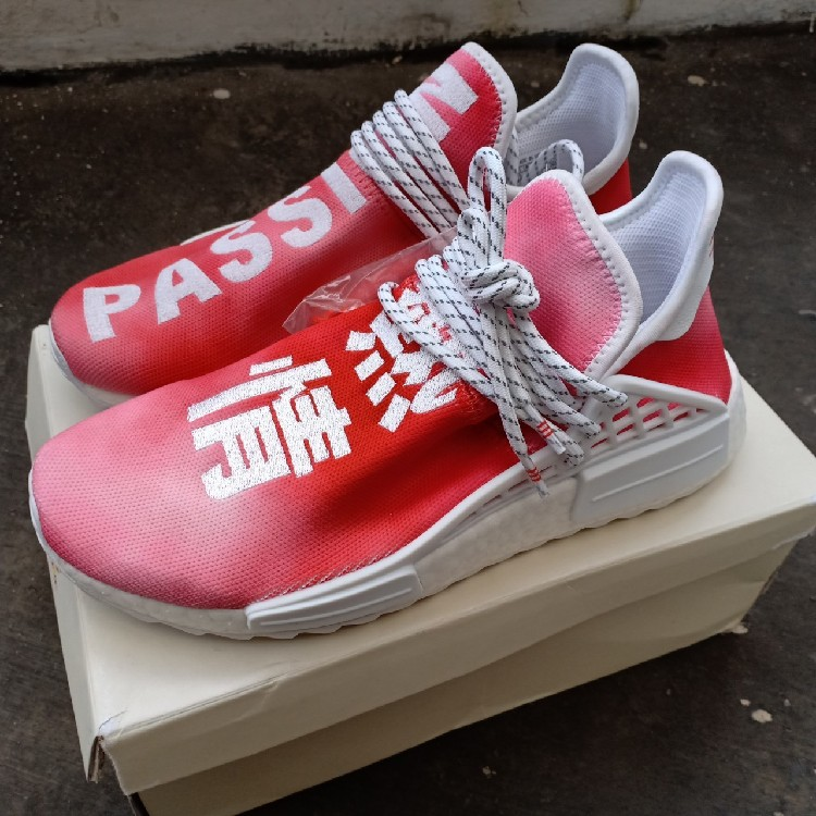 uk availability 49d8c 82284 BEST SNEAKER FOR CNY Adidas NMD Pharrel Hu China Exclusive Passion (Red)